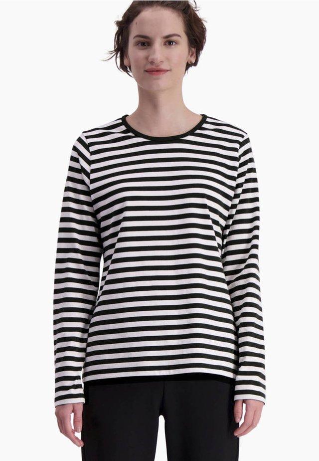 MARI - Langærmede T-shirts - white, black