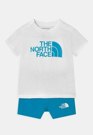 INFANT SUMMER SET UNISEX - Print T-shirt - white/blue