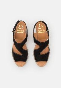 Kanna - ANIA - Platform sandals - schwarz - 5