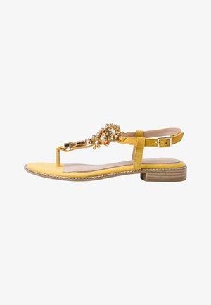 BY GUIDO MARIA KRETSCHMER - T-bar sandals - saffron comb