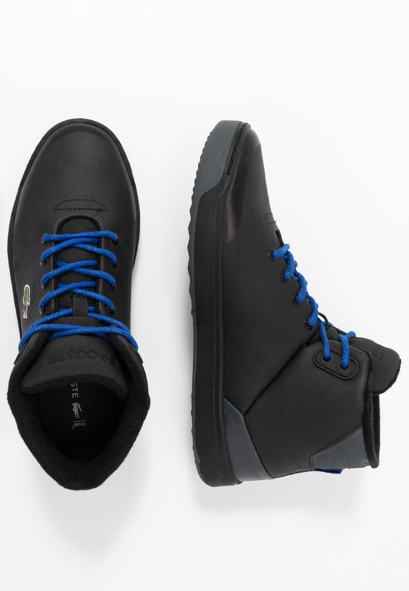 Lacoste - EXPLORATEUR THERMO - High-top trainers - black
