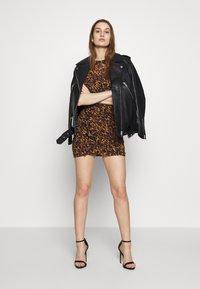 AllSaints - HALI AMBIENT DRESS - Kjole - brown - 1