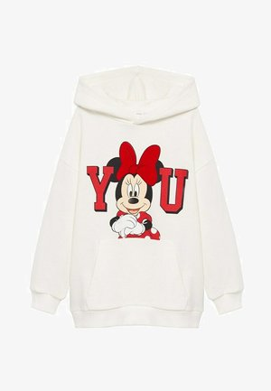 MINNIE - Sweat à capuche - blanc cassé