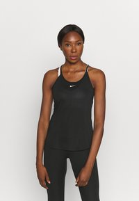 Nike Performance - ONE TANK - Top - black/white - 0