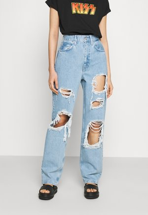 EXTREME DESTROYED MODERN - Jeans relaxed fit - mid vintage