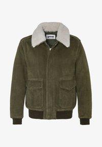 Schott - AVIATEUR  - Leather jacket - kaki - 0