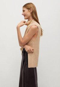 Mango - CHOCOLAT - A-line skirt - marron - 4