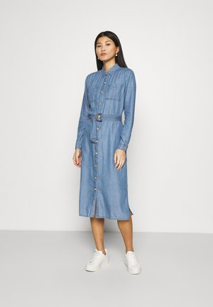 VESTIDO MIDI - Vestito di jeans - medium blue