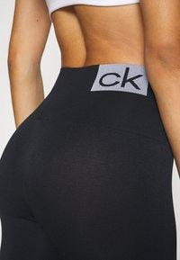 Calvin Klein Underwear - WOMEN LOGO MASON - Leggings - Stockings - black / white - 5