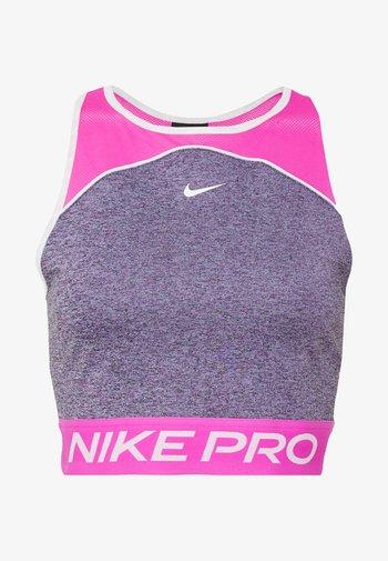 T-shirt de sport - cerulean/fire pink/white