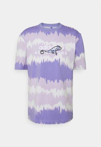 UNISEX - Print T-shirt - light purple