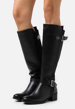 KABBY KNEE HIGH BOOT - Vysoká obuv - black
