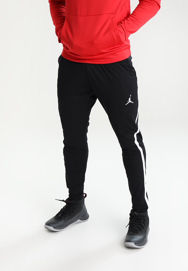 Jordan - ALPHA DRY PANT - Jogginghose - black/white