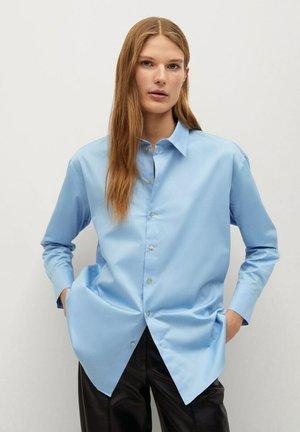 ALBERTO-I - Button-down blouse - hemelsblauw
