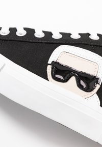KARL LAGERFELD - KAMPUS IKONIC LACE - Baskets basses - black