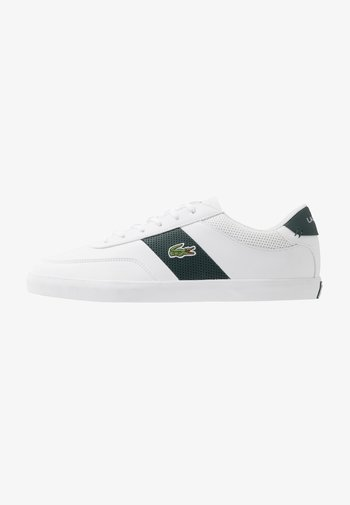 COURT MASTER - Trainers - white/dark green