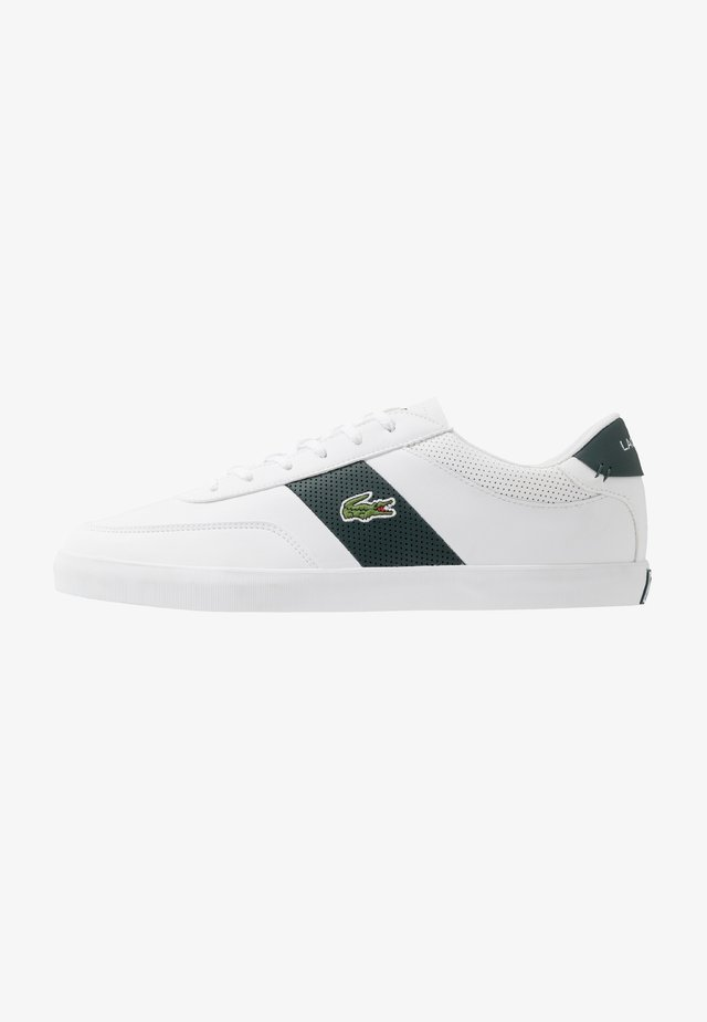 COURT MASTER - Sneakers laag - white/dark green