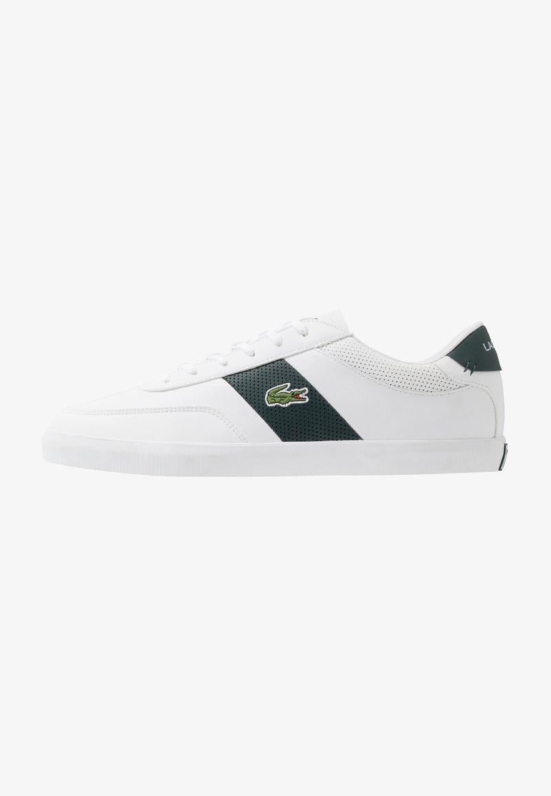 Lacoste - COURT MASTER - Trainers - white/dark green