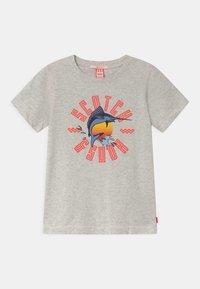 Scotch & Soda - SHORT SLEEVE WITH ARTWORK - Print T-shirt - ecru melange - 0
