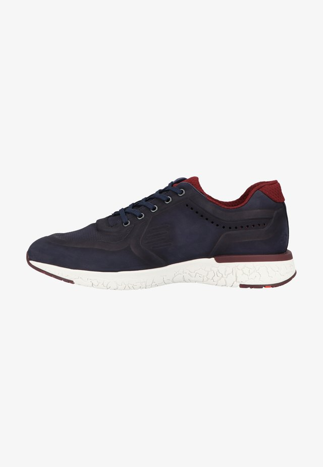 Sneakersy niskie - midnight bordo