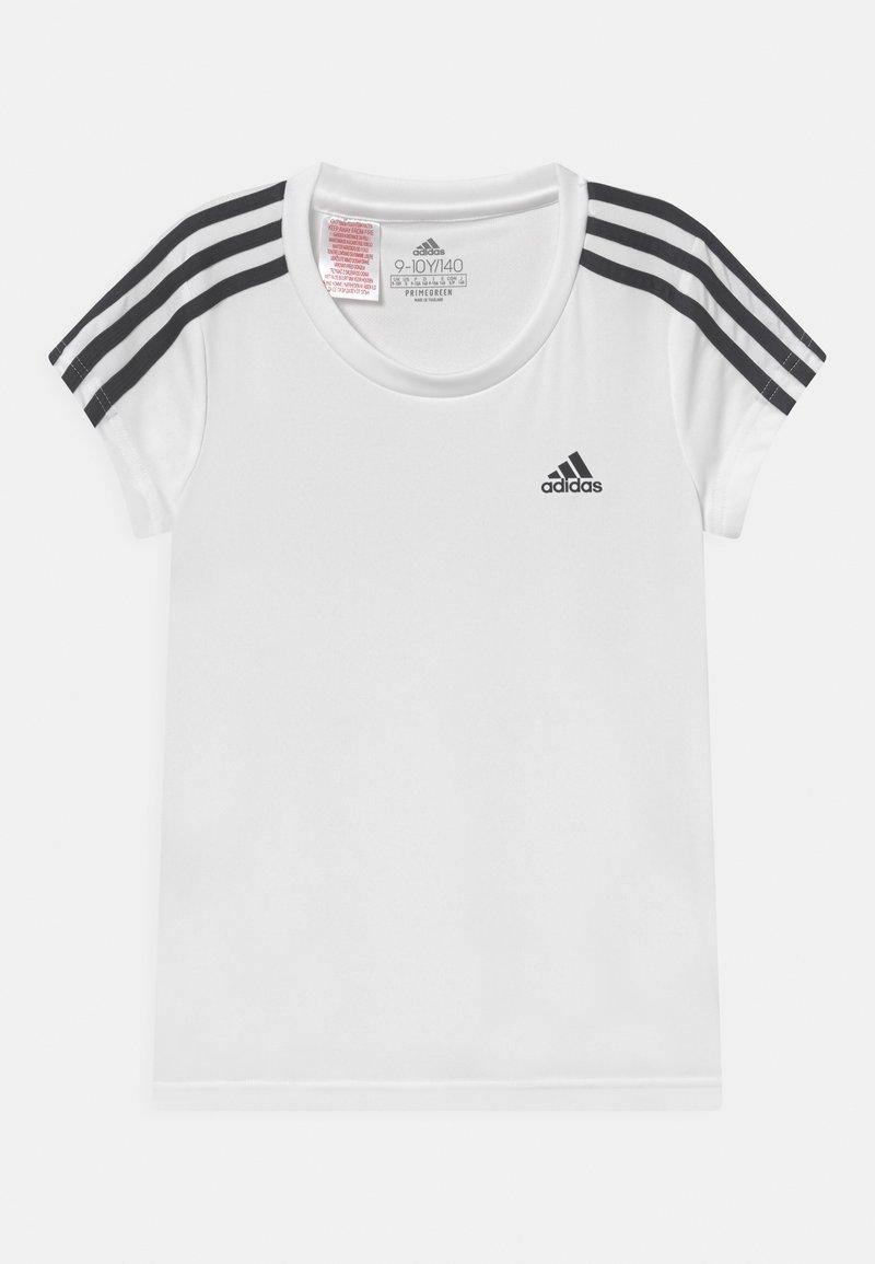adidas Performance - UNISEX - T-shirt print - white/legend ink