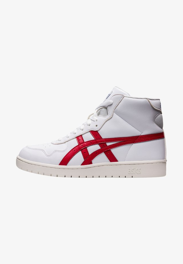 JAPAN UNISEX - Korkeavartiset tennarit - white/classic red