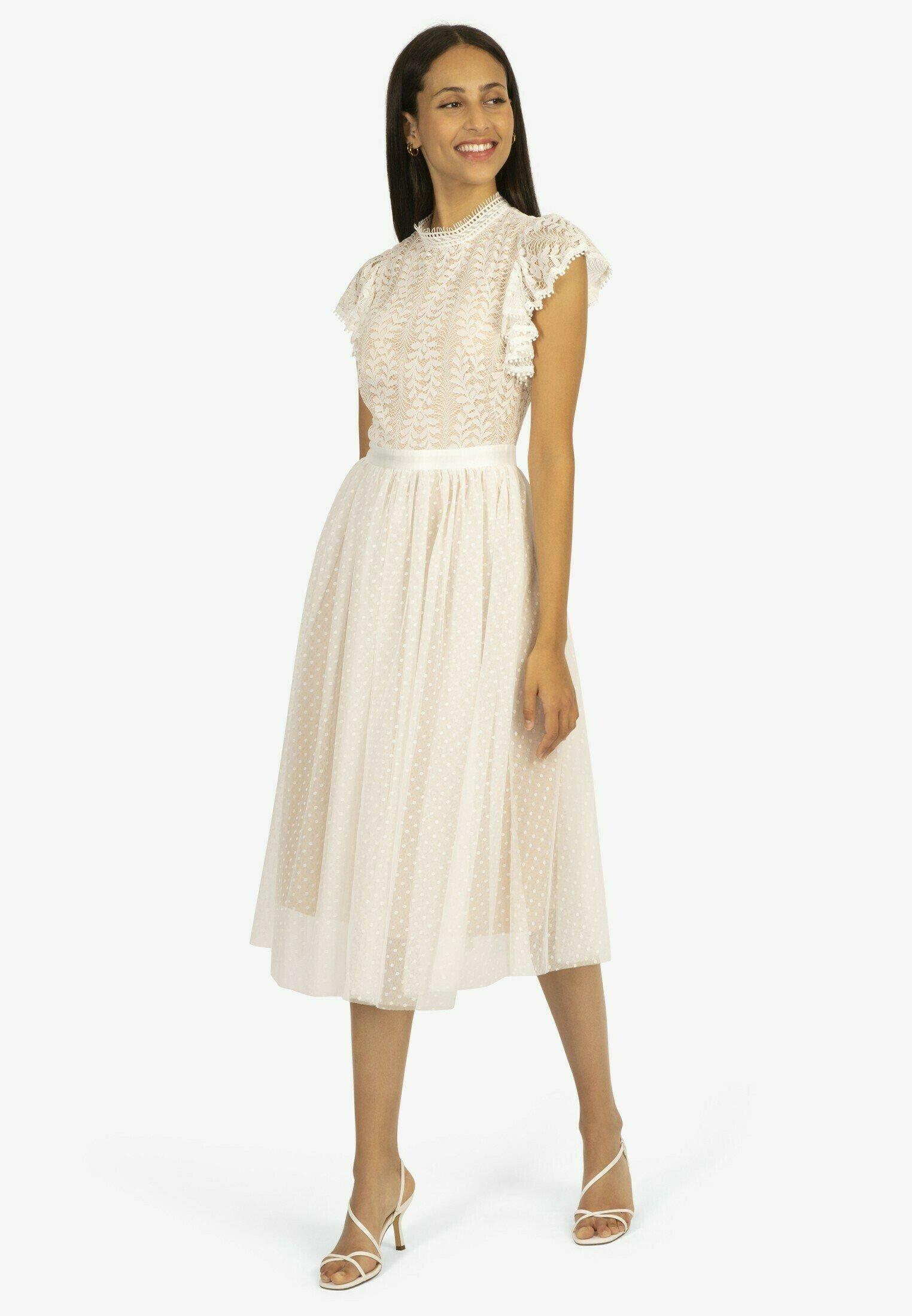 Donna COCKTAILKLEID AUS TÜLL UND SPITZE - Vestito elegante