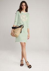 JOOP! - Jersey dress - grün weiß gestreift - 7