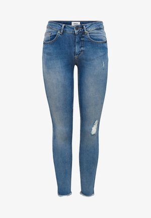 ONLY - Skinny džíny - light blue denim