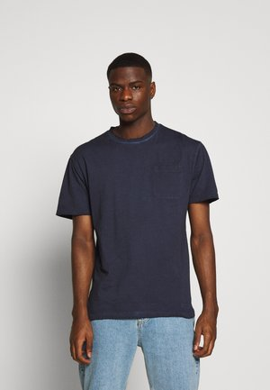 ALESSIO - Basic T-shirt - vintage midnight blue
