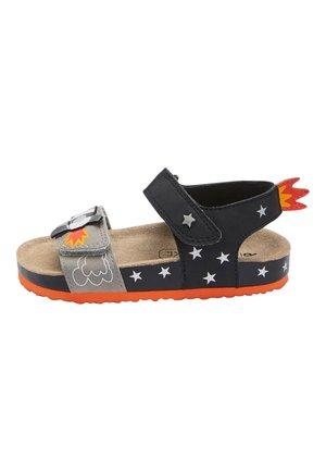 MONOCHROME ROCKET CORKBED SANDALS (YOUNGER) - Chodecké sandály - black
