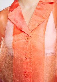 HOSBJERG - JASMINE - Button-down blouse - orange - 5