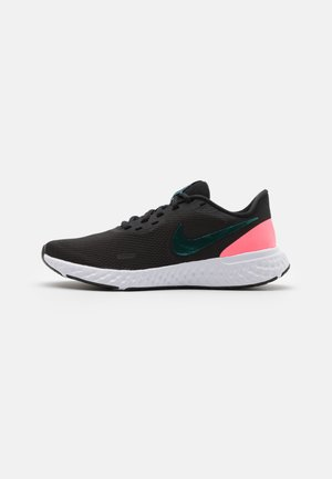 REVOLUTION 5 - Zapatillas de running neutras - black/dark atomic teal/sunset pulse/white