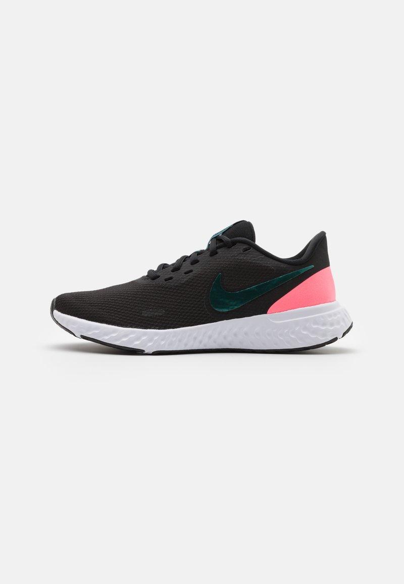 Nike Performance - REVOLUTION 5 - Scarpe running neutre - black/dark atomic teal/sunset pulse/white