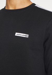 Jack & Jones Performance - JCOZ SPORT CREW NECK - Sweatshirt - black - 5