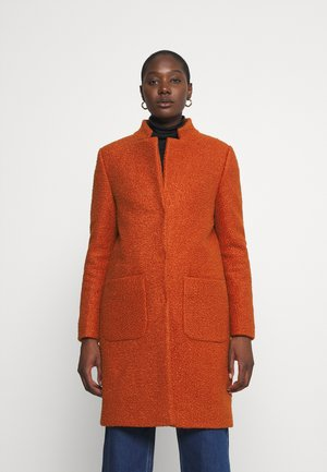 TEDDY COAT - Classic coat - rusty red