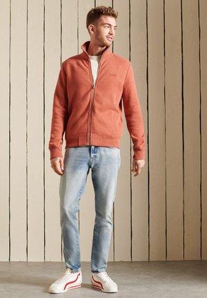 VINTAGE - Zip-up sweatshirt - spiced marl