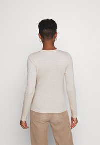 Levi's® - BABY TEE - Long sleeved top - aya marble heather gray - 2