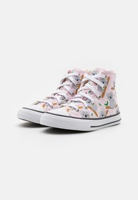 Converse - CHUCK TAYLOR ALL STAR - High-top trainers - pink foam/multicolor/white - 1
