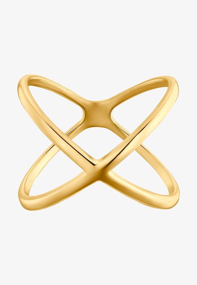 Prsten - goldfarbend
