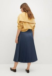 Violeta by Mango - PLISA - A-line skirt - azul - 2