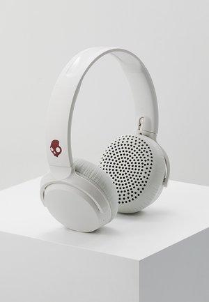 RIFF WIRELESS ON-EAR - Headphones - vice/gray/crimson