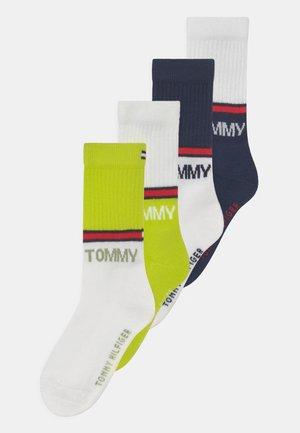 SEASONAL SPORT 4 PACK UNISEX - Ponožky - blue/yellow