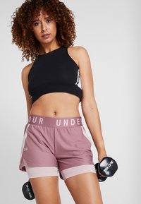 Under Armour - PLAY UP SHORTS - Pantalón corto de deporte - hushed pink/dash pink - 3