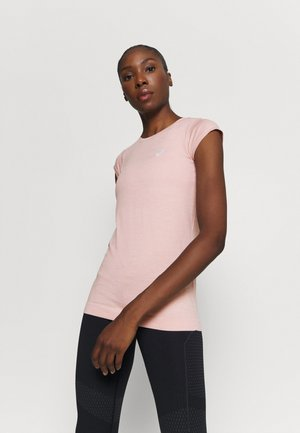 RACE SEAMLESS - Camiseta básica - ginger peach