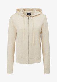 Lexington - JUNE - Zip-up sweatshirt - light beige melange - 3