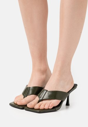 JOSEFINE - T-bar sandals - dark green