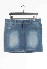 edc by Esprit - Spódnica jeansowa - blue - 0