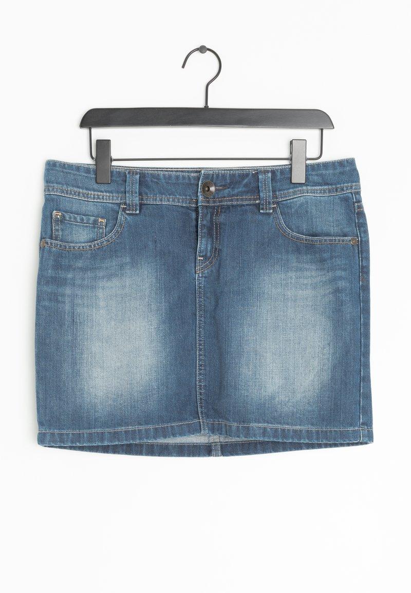 edc by Esprit - Spódnica jeansowa - blue