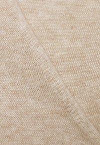 pure cashmere - WRAP DRESS - Jumper dress - oatmeal - 2